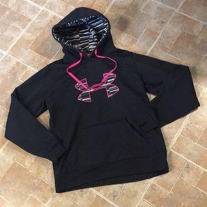 Under Armour hoodie size kids girls medium